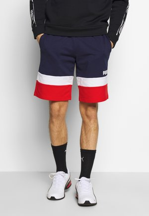 CELEBRATION COLOUR BLOCK SHORTS - Sports shorts - peacoat