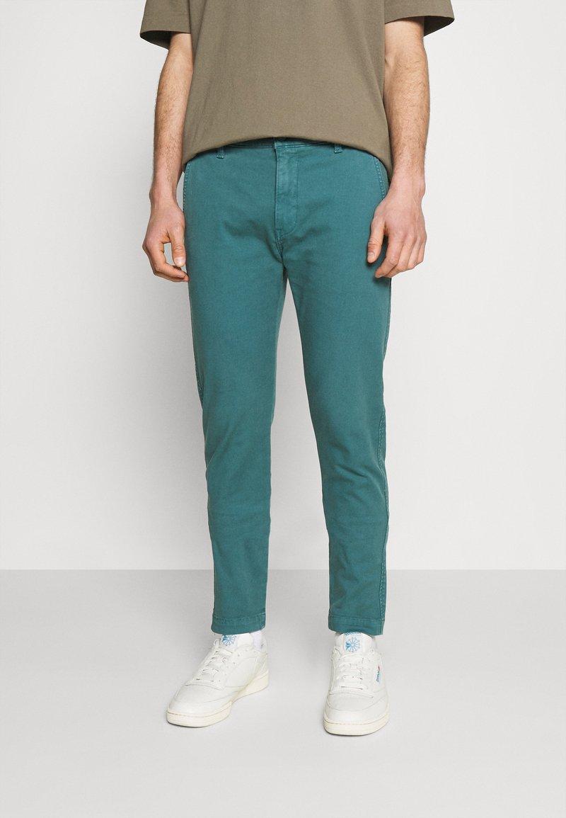 Levi's® - XX CHINO SLIM FIT II - Chino kalhoty - harbor blue s twill gd