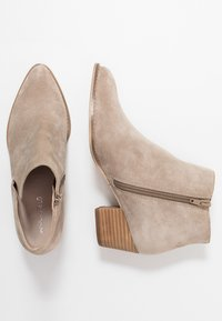 Anna Field - LEATHER CLASSIC ANKLE BOOTS - Støvletter - taupe - 3