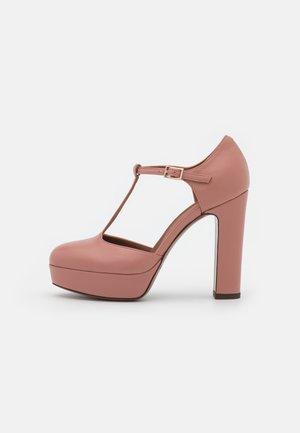 D'ORSEY - Lodičky na vysokém podpatku - ancient pink