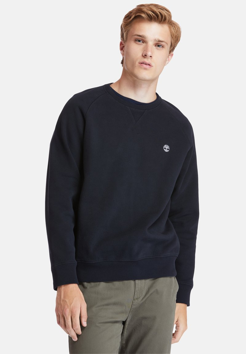 Timberland - EXETER RIVER BRUSHED BACK - Sweatshirt - black