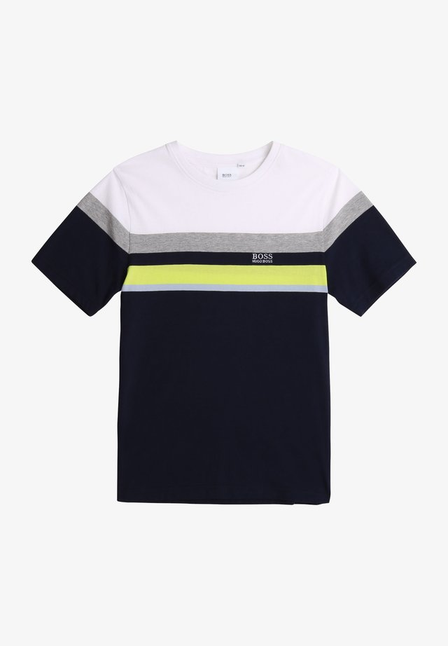 T-shirt imprimé - bleu