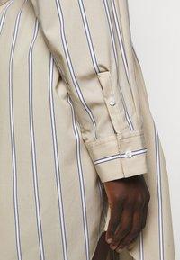3.1 Phillip Lim - STRIPED BUTTON UP SHIRT DRESS - Shirt dress - tan - 7