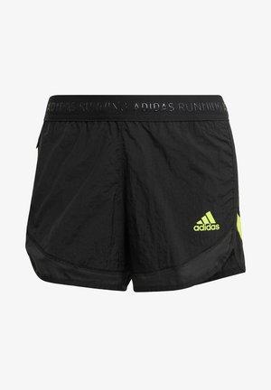 Pantaloncini sportivi - schwarz/gelb