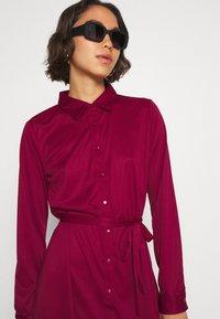 Even&Odd - Košilové šaty - dark red - 3