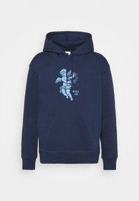 Nike SB - HOODIE UNISEX - Sweatshirt - midnight navy/dutch blue - 0