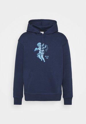 HOODIE UNISEX - Collegepaita - midnight navy/dutch blue