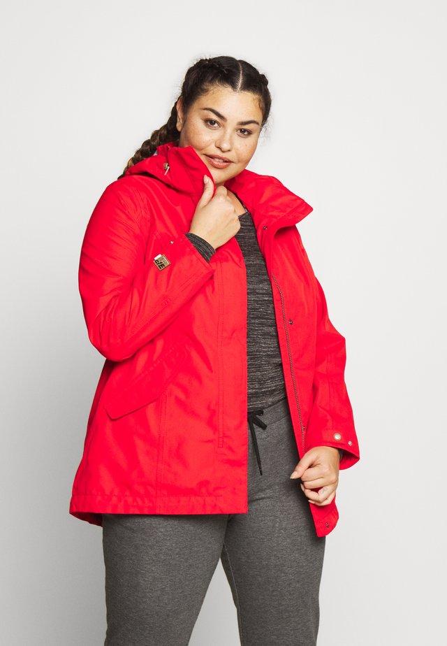 PHARSALIA - Waterproof jacket - classic red