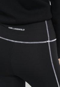KARL LAGERFELD - RUE GUILLAUME  - Leggings - black - 4