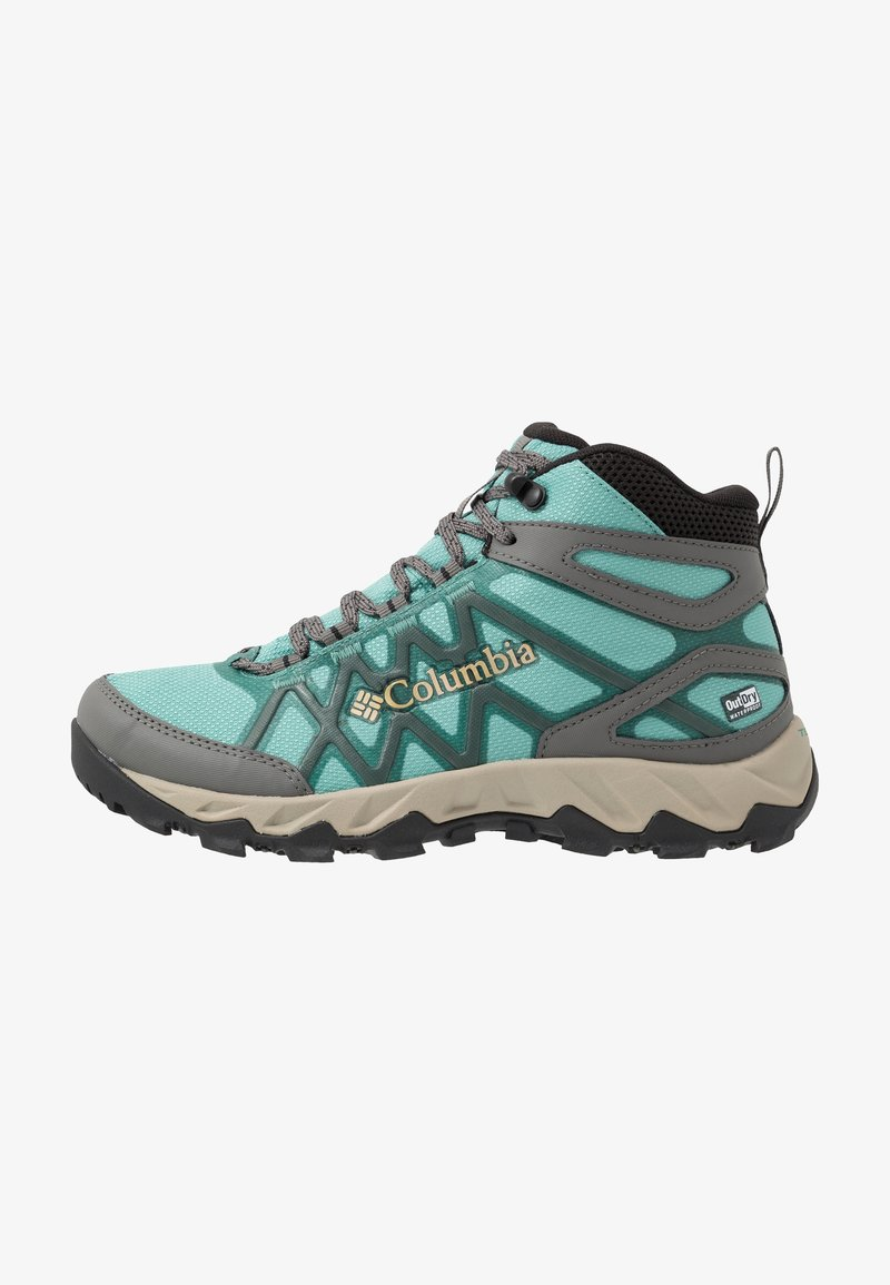 Columbia - PEAKFREAK X2 MID OUTDRY - Hiking shoes - copper ore/warm gold