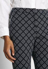 GANT - CIGARETTE PANT - Trousers - evening blue - 5
