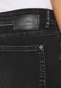 Desigual - LESLIE - Jeans Skinny Fit - denim black wah - 4
