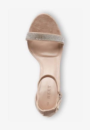 BARELY THERE  - High heeled sandals - nude