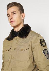 Schott - JEEPER - Winter jacket - beige - 6