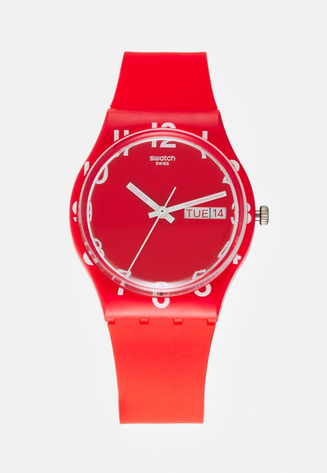 OVER RED - Orologio - red