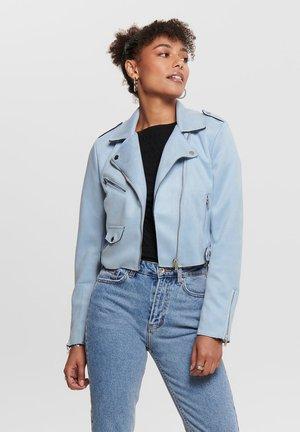 Faux leather jacket - kentucky blue