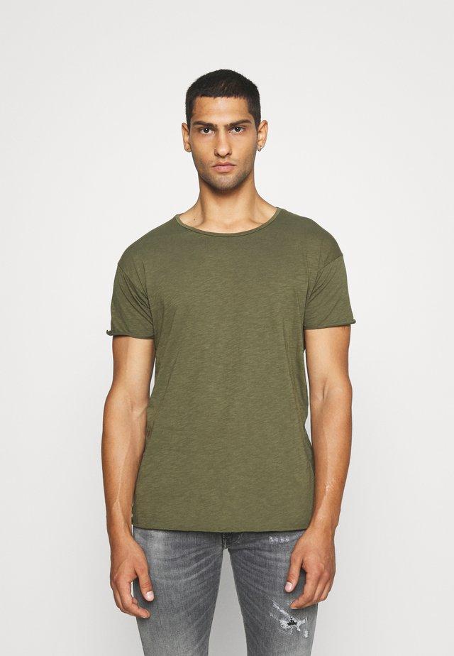 ROGER - T-shirt basique - olive