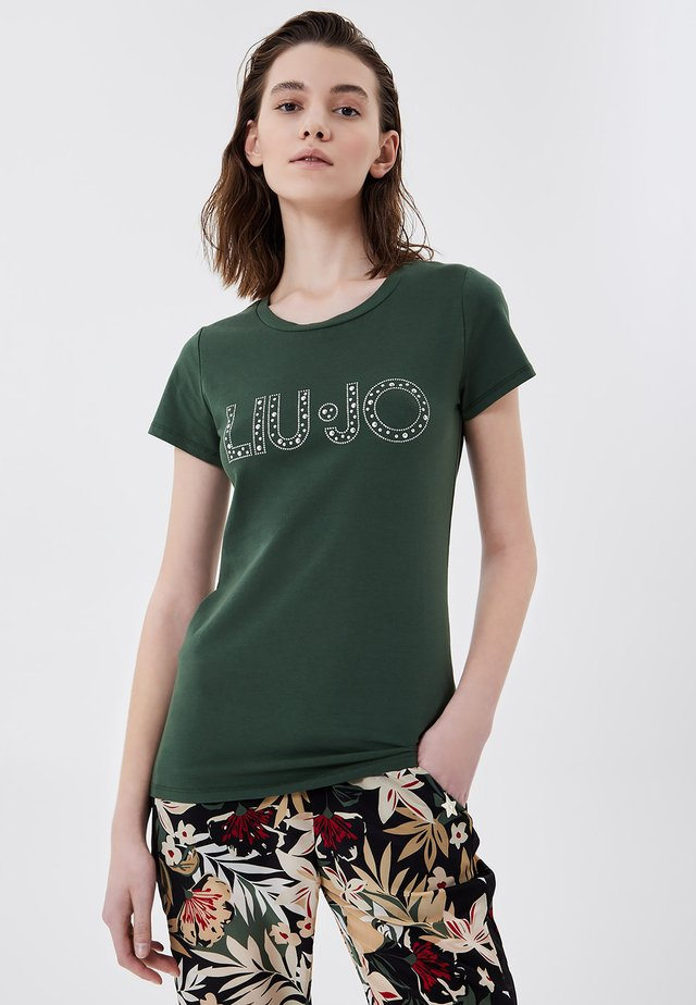 T-shirts print - forest green