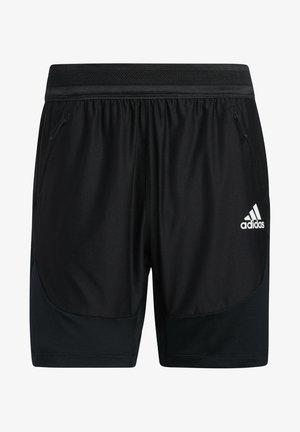 H.RDY SHORTS - Krótkie spodenki sportowe - black