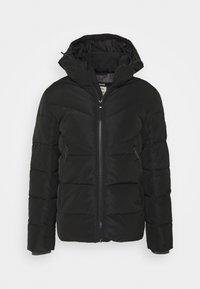 HEAVY PUFFER JACKET - Zimní bunda - black