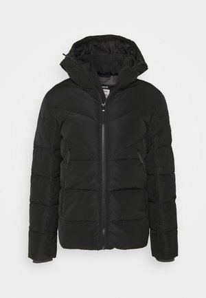 HEAVY PUFFER JACKET - Chaqueta de invierno - black