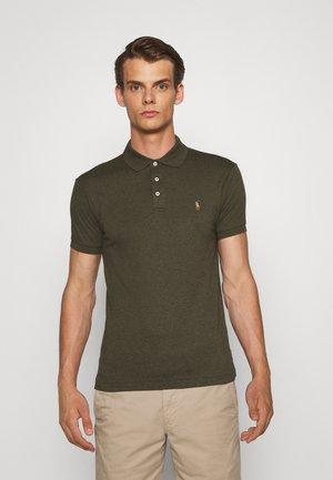SLIM FIT SOFT COTTON POLO SHIRT - Polo shirt - alpine heather