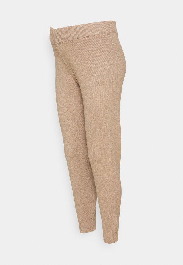 PCMSALSA  PANTS - Kalhoty - natural melange