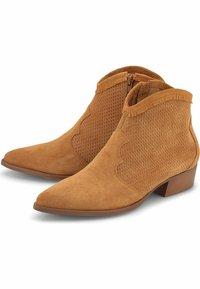 Belmondo - Ankle boots - mittelbraun - 1