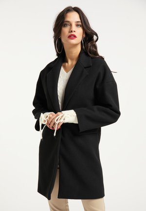 Short coat - schwarz
