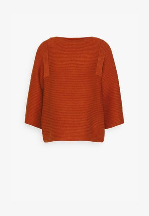 ELISHA JUMPER - Jumper - spiced orange