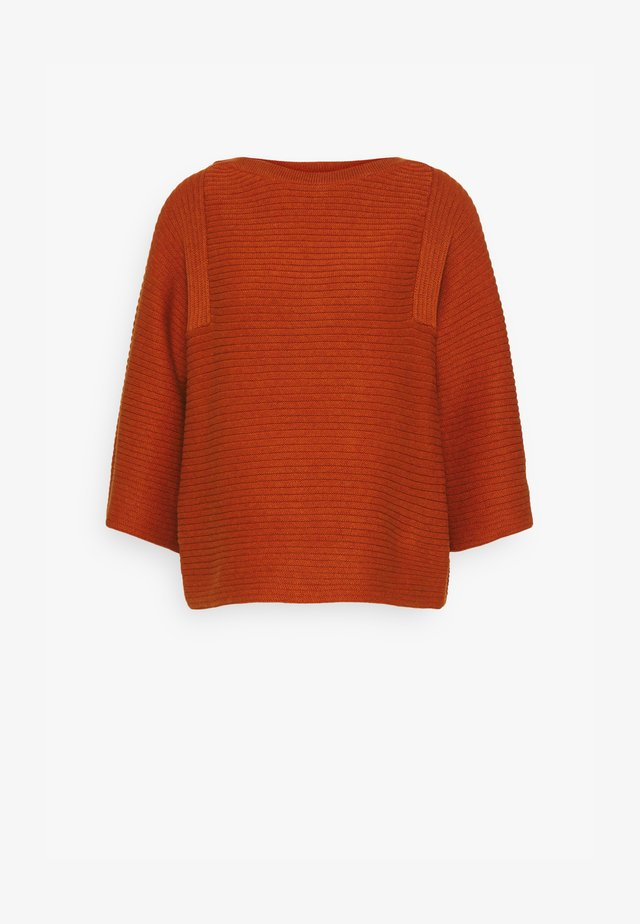 ELISHA JUMPER - Maglione - spiced orange