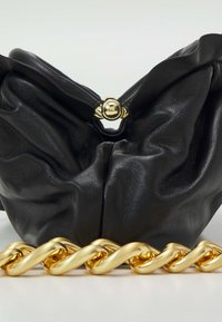 Pinko - MINI CHAIN FRAIMED CHAIN - Handbag - black - 5