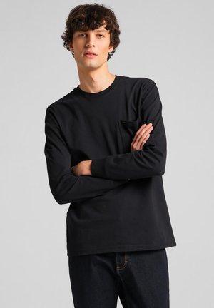 POCKET - Långärmad tröja - black
