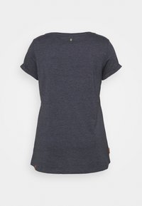 Ragwear Plus - FLORAH  - Print T-shirt - navy - 1