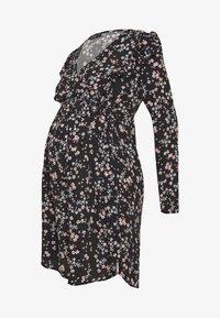 Cotton On - MATERNITY CROSS FRONT BABYDOLL DRESS - Sukienka letnia - millie black - 4