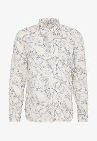 120% Lino - FLORAL PRINT - Shirt - ivory soft fade - 4