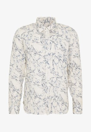 FLORAL PRINT - Shirt - ivory soft fade