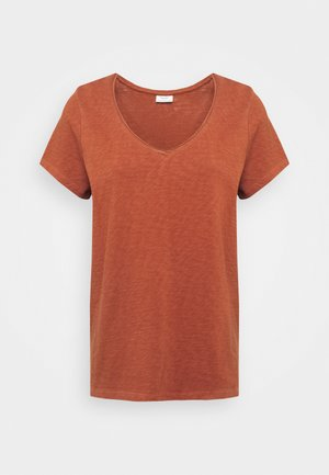 T-shirts - cinnamon brown