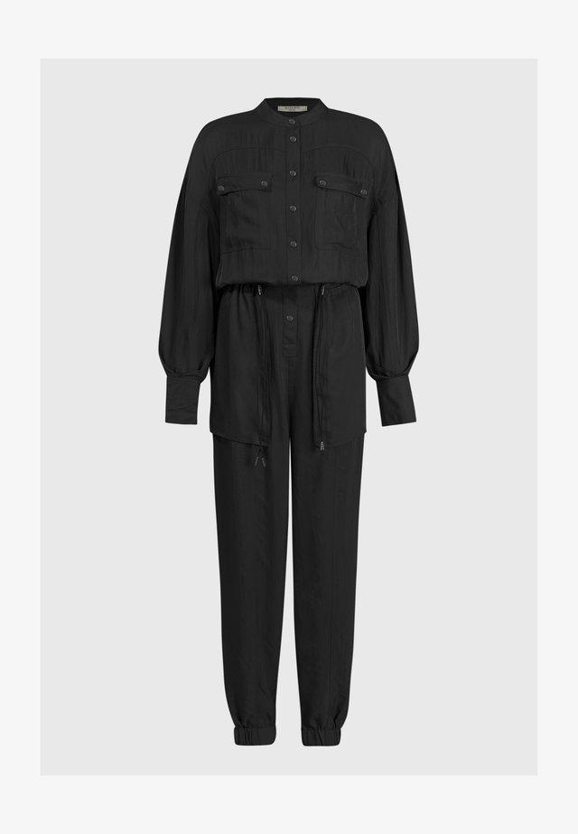 ENIA - Overall / Jumpsuit /Buksedragter - black