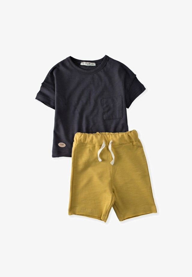 2 SET - Shorts - anthracite