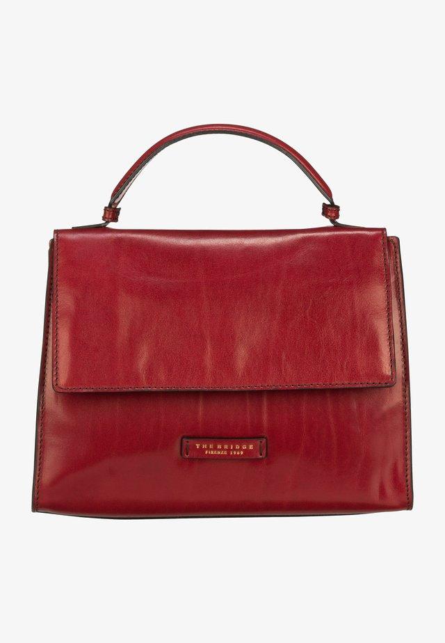BIANCA  - Handbag - rosso ribes/oro
