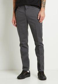 Dickies - 872 SLIM FIT WORK PANT - Chinos - charcoal grey - 0
