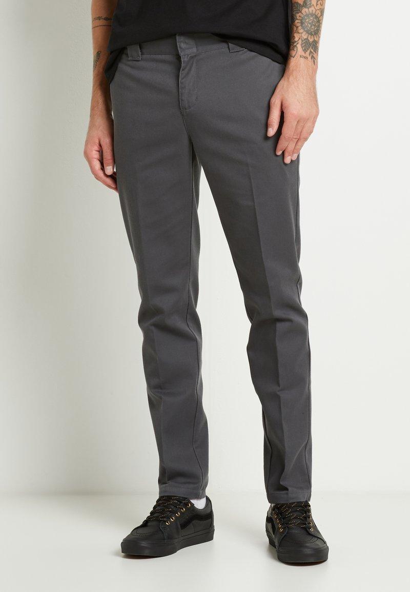 Dickies - 872 SLIM FIT WORK PANT - Chinos - charcoal grey