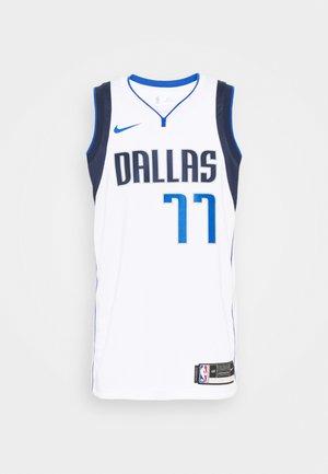 NBA DALLAS MAVERICKS LUKA DONCIC SWINGMAN - Club wear - white/college navy