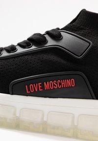 Love Moschino - Korkeavartiset tennarit - nero - 2