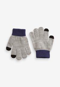 Next - 2 PACK - Gloves - grey - 1