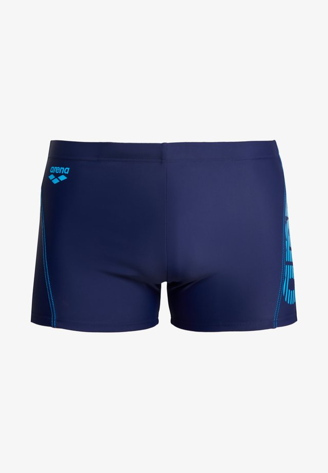 EVO - Swimming trunks - navy/turquoise