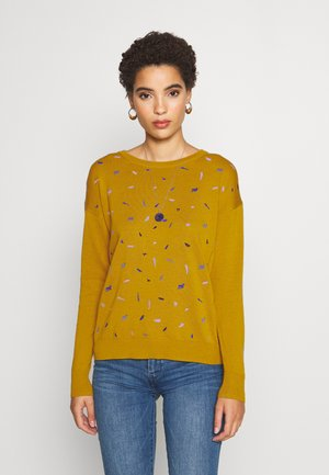EMBRO - Jumper - brass yellow