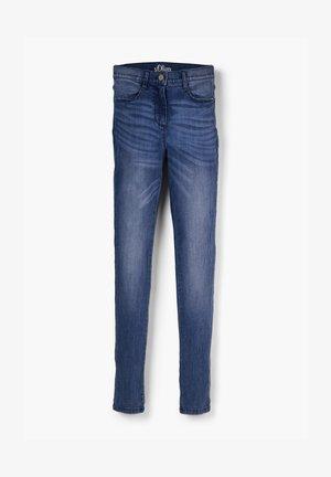 IM USED-LOOK - Slim fit jeans - blue