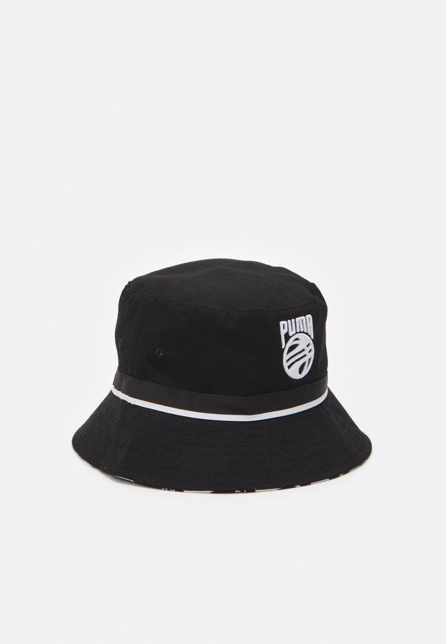 BASKETBALL BUCKET HAT - Chapeau - black